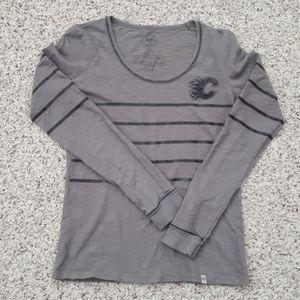 Long sleeve Flames t shirt